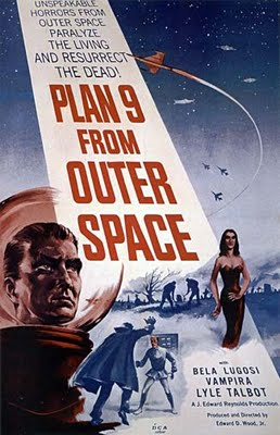 Plan 9 From Outer Space (1956) - Poster